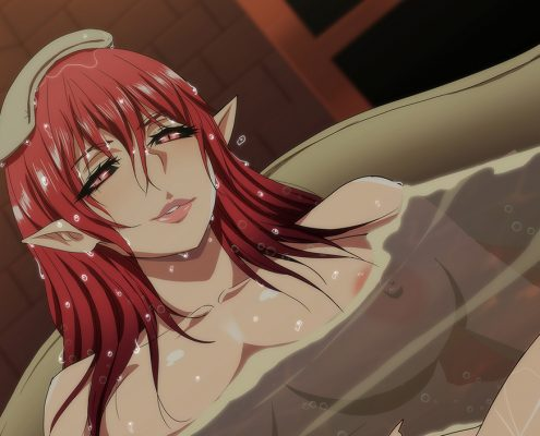 tb1 495x400 - Alice bath time