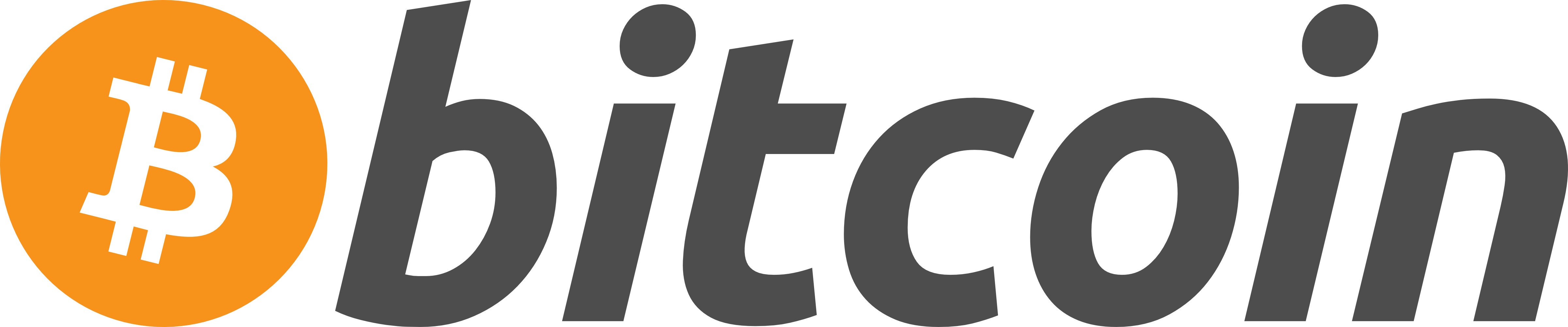 Bitcoin Logo Horizontal Dark 4800px - Join
